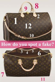 How do spot a fake Louis? Read these 12 tips and find out!#Repin By:Pinterest++ for iPad#