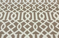 RICHLOOM KIRKWOOD FILAMENT TAWNY TRELLIS OUTDOOR FURNITURE FABRIC BY THE YARD  #Richloom