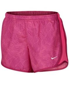 Nike Dry Tempo Running Shorts, Big Girls (7-16) - Pink M
