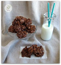 """These Chocolate Macaroons are always a hit.Trust me when I tell you these no bake morsels will quickly become your """"go-to"""" cookie and a family favourite!"""