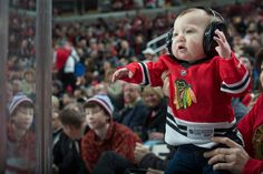 Quite possibly the cutest #Blackhawks Fan Salute winner. Of. All. Time.