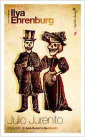 JULIO JURENITO. - Publicada en 1922, Julio Jurenito es una sátira filosófica y mordaz de la civilización europea. Escrita en menos de un mes, «como si alguien me llevara la mano mientras escribía», su protagonista es un mexicano nacido de las charlas con el fabuloso pintor Rivera. Jurenito recorre la Europa de 1910 a 1920 en compañía...