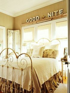rustic iron bed frame
