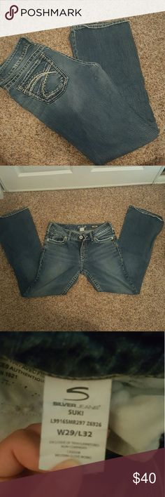 Silver Suki Jeans Only worn a handful of times, great condition! Silver Jeans Jeans Boot Cut