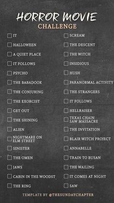 Must Watch Netflix Movies, Movies To Watch Teenagers, Scary Movies To Watch, Good Movies On Netflix, Movie To Watch List, Best Horror Movies List, Scariest Horror Movies, Film Marathon, Scary Movie List