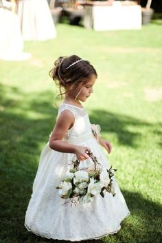 Check these flower girls wedding dresses you will love it 15 amazing dresses Flower Girl Hairstyles amazing check dresses flower Girls Love Wedding Bridesmaid Flowers, Wedding Flowers, Bridesmaid Dresses, Wedding Dresses, Bridesmaids, Lace Dresses, Girls Dresses, Flower Girl Hairstyles, Wedding Hairstyles