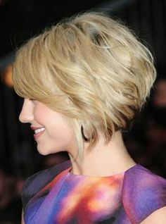 Angled bob hairstyles for oval faces 2014