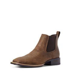 Disse ankelhøye støvlene er ypperlige når du trenger å gi dine cowboy boots en pause. De har polstret innersåle og raffinert design, samtidig som de er både komfortable og bygget for å vare. Mens Short Boots, Ariat Mens Boots, Fashion Wear, Mens Fashion, Western Boots For Men, Waist Cincher Corset, Waist Training Corset, Tan Leather, Jeans