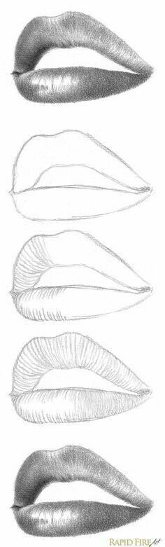 Lips ... www.frihetensarv.no, #frihetensarv, diy, Joy, Tegning, Drawing, Lips