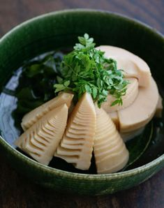 Japanese bamboo shoots meal