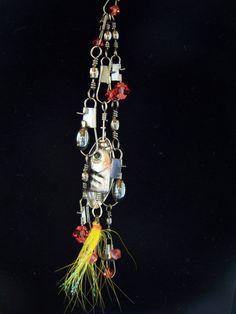 Sporty fun and yet feminine fishing theme black by StudioDucharme, $175.00