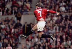 Manchester United chairman Martin Edwards, via Alex Ferguson, rebuffed the request. Bill Fotherby, the Leeds United managing director, was on the phone asking about the availability of United's quietl. Eric Cantona, Retro Football, Vintage Football, Football Pics, Leeds United, Vive Le Sport, Philipp Lahm, Auxerre, Manchester United Football