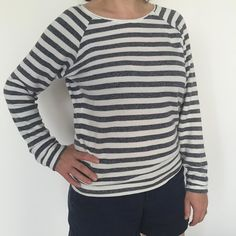 MMM day 6: it's a Grainline sort of a day today. Linden sweater in French terry…