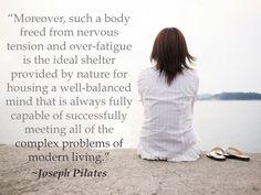 Joseph Pilates quote