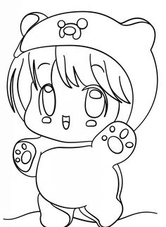 coloring pages of squishies | Chibi Reverse Annie by NPrinny | Printables in 2019 ...
