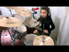 Madison Rising - The Star Spangled Banner  Drum cover Eduarda Henklein (...
