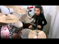 Madison Rising - The Star Spangled Banner  Drum cover Eduarda Henklein (...