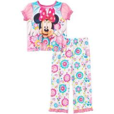 Minnie Mouse - Dis Toddler Girl Sleepwear-minnie, Pink
