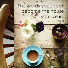 Death & Life are in the power of the tongue...Proverbs 18:21