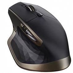 Logitech MX Master Wireless Mouse, Bluetooth or GHz with USB Unifying Mini-Receiver, 1000 DPI Any Surface Laser Tracking, PC / Mac / Laptop - Meteorite Black Bronze Logitech, Bluetooth, Wireless Speakers, Gaming Computer, Computer Mouse, Computer Reviews, Buy Computer, Radios, Radio Frequency