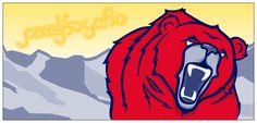 Red Bear Roaring by pixelpsycho.deviantart.com on @DeviantArt