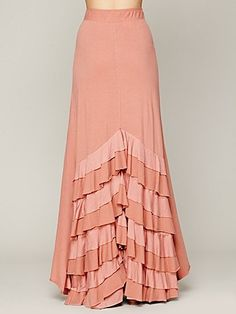 Rizzo Ruffle Skirt in a different color