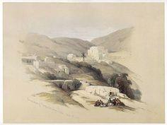 David Roberts - Ancient Lydda
