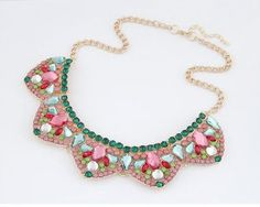 click hear to shop more statement necklaces. Shop all musthave jewellery by aphrodite. Free worldwide shipping and gift. Dainty Jewelry, Boho Jewelry, Silver Jewelry, Jewelry Accessories, Fashion Jewelry, Bohemian Necklace, Jewellery, Flower Necklace, Crystal Necklace