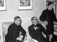 san Josemaría, Álvaro del Portillo y Javier Echevarría | Flickr - Photo Sharing!