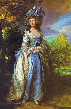 """Sophia Charlotte, Lady Sheffield"", Thomas Gainsborough, 1785-86; National Trust (Waddesdon Manor)"