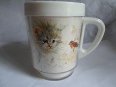 Vintage Plastic Mug By dawn With Basset Hound by KimsKreations17, $7.99