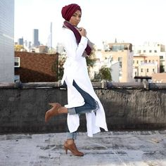 white cardigan open sides- Verona collection for modest hijab http://www.justtrendygirls.com/verona-collection-for-modest-hijab/