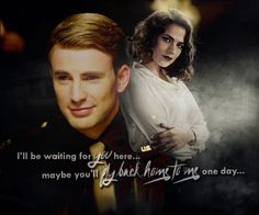 Peggy Carter + Steve Rogers - Such a great love story ...