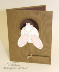 Easter Bunny Card by LorriHeiling - Cards and Paper Crafts at Splitcoaststampers