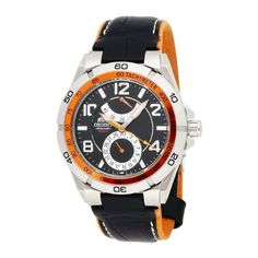 Orient Men's CFM00003B Power Reserve Semi-Skeleton Black Automatic Watch Orient. $208.95. Screwed-Down Crown. Quality Japanese Automatic movement; functions without a battery; powers automatically with the movement of your arm. Power Reserve Indicator. Water-resistant to 330 feet (100 M). Skeleton case-back. Save 39%!