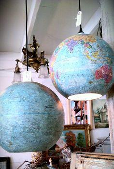globe lights @Courtney Flaherty-Maas
