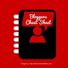 The 4 Point Blogger's Cheat Sheet - Donna Merrill