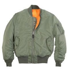 Alpha Industries MA-1 Flight Jacket : Men's Flight Jackets