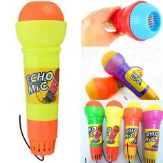[US$2.73] Kids Child Echo Microphone Mic Voice Changer Party Song Toy Gift Birthday Present #kids #child #echo #microphone #voice #changer #party #song #gift #birthday #present