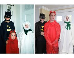 Three Brothers Recreated Hilarious Childhood Photos For Their Mom