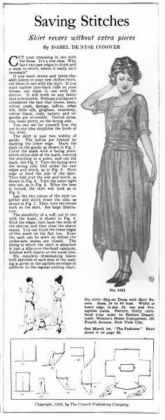 Woman's Home Companion March 1922 http://books.google.com/books?id=Euo9AQAAMAAJ&pg=PA69&dq=chemise+pattern&hl=en&sa=X&ei=UR70Utn1F4KVygHAzoDoDA&ved=0CFgQ6AEwBDgK#v=onepage&q=pattern&f=false