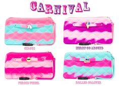 #2 Carnival Collection Gummy Bag Wristlets GLOW IN THE DARK with Flashlight and Jewel Free