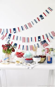 Set up a Red, White & Blue Ice Cream Floats station to celebrate the of July. There's something for everyone, including children or adults. Check out these tasty combinations I created. Sorbet Ice Cream, Ice Cream Floats, Ice Cream Party, 4th Of July Celebration, 4th Of July Party, Fourth Of July, Patriotic Party, Ice Cream Social, Recipe For Mom