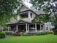 Another house which shares some dna with ours. Ours is missing the porch and the pitched / covered entry.     Queen Ann Victorian - Tuscaloosa, AL