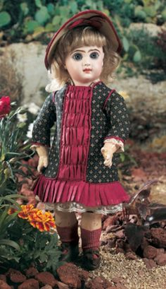 For the Love of Dolls, The Mildred Seeley Collection: 201 French Bisque Bebe Jumeau, Size 5