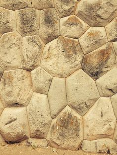 Flower in the Stone work, INCA