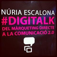 #DigiTalk als ulls de @Saül Gordillo. #instagram