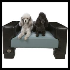 Faux Leather Dog Bed by Chester & Wells. Stylish dog beds for your pet and your home. Wooden Dog Kennels, Diy Dog Kennel, Cute Dog Beds, Dog Beds For Small Dogs, Car Dog Bed, Heated Dog Bed, Outdoor Dog Bed, Designer Dog Beds, Orthopedic Dog Bed