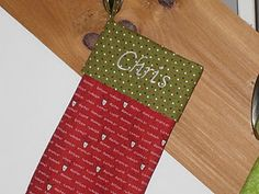 countdown to Christmas stocking