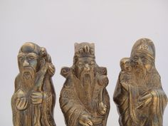 Chinese Wisemen Fuk Luk Sau  GODS of Wealth by SusieSoHoCollection, $28.00